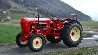 Porsche uit 1962 - een tractor - brengt meer dan 200.000 euro op