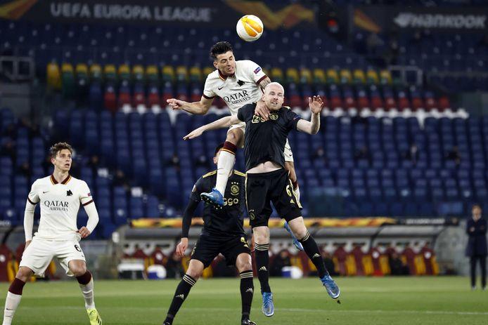 L'Ajax butte sur la Roma et peut oublier le triplé.