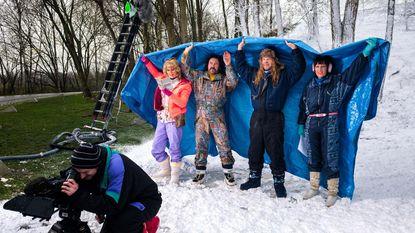 De Schorre krijgt sneeuwtapijt voor filmopnames