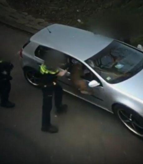 Rotterdammer wil alsnog vervolging afdwingen van agent die politiehond in zijn auto losliet