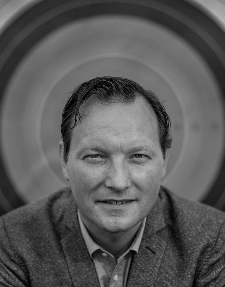 Arnoud Strijbis, directeur van Handboogsport Nederland. Beeld Patrick Post