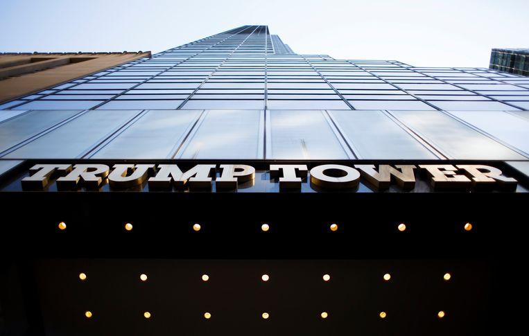 Reizigers konden via Airbnb overnachten in de Trump Tower. Beeld EPA