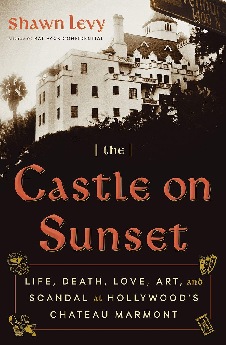 'Shawn Levy: The Castle on Sunset. Life, Death, Love, Art, and Scandal at Hollywood's Chateau Marmont'. Doubleday Books, 384 pagina's, 22,99 euro. Beeld