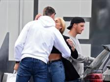 Lukaku en Maserati, Courtois avec Mishel, Eden Hazard souriant: les Diables débarquent à Tubize