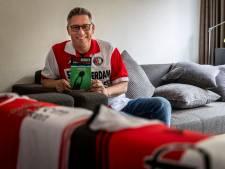 Astenaar schrijft boek over clubliefde: 'Je wórdt voor PSV of Ajax, je bént voor Feyenoord'