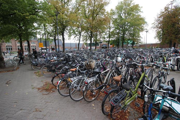 Ook wethouder Cees Lok vindt dat de openbare stallingen bij NS-station Roosendaal beter kunnen worden ingericht.