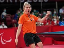 Kelly van Zon zeker van paralympisch zilver: 'Dit is een ontzettend heerlijk gevoel'