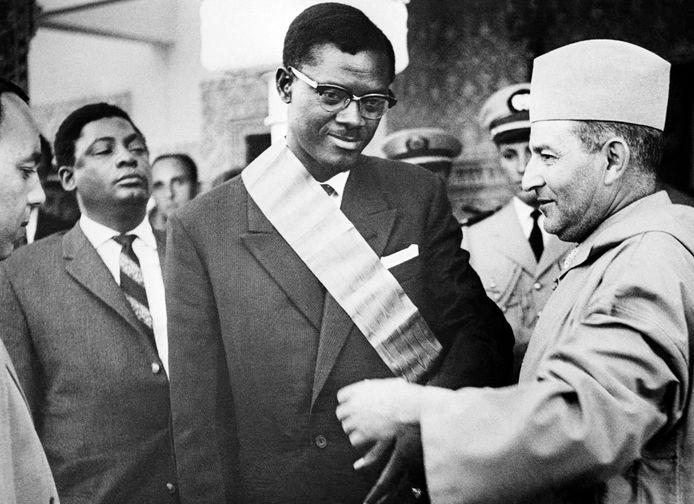 Lumumba in 1960.