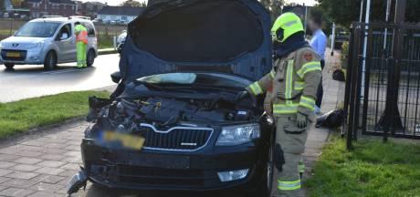 Kettingbotsing op Van Der Mondeweg in Haalderen: bestuurders met de schrik vrij