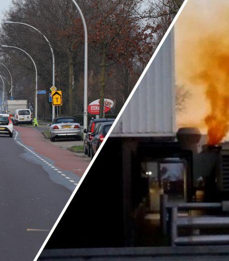 Brand bij Thales in Hengelo onder controle: geen gevaar meer voor omgeving