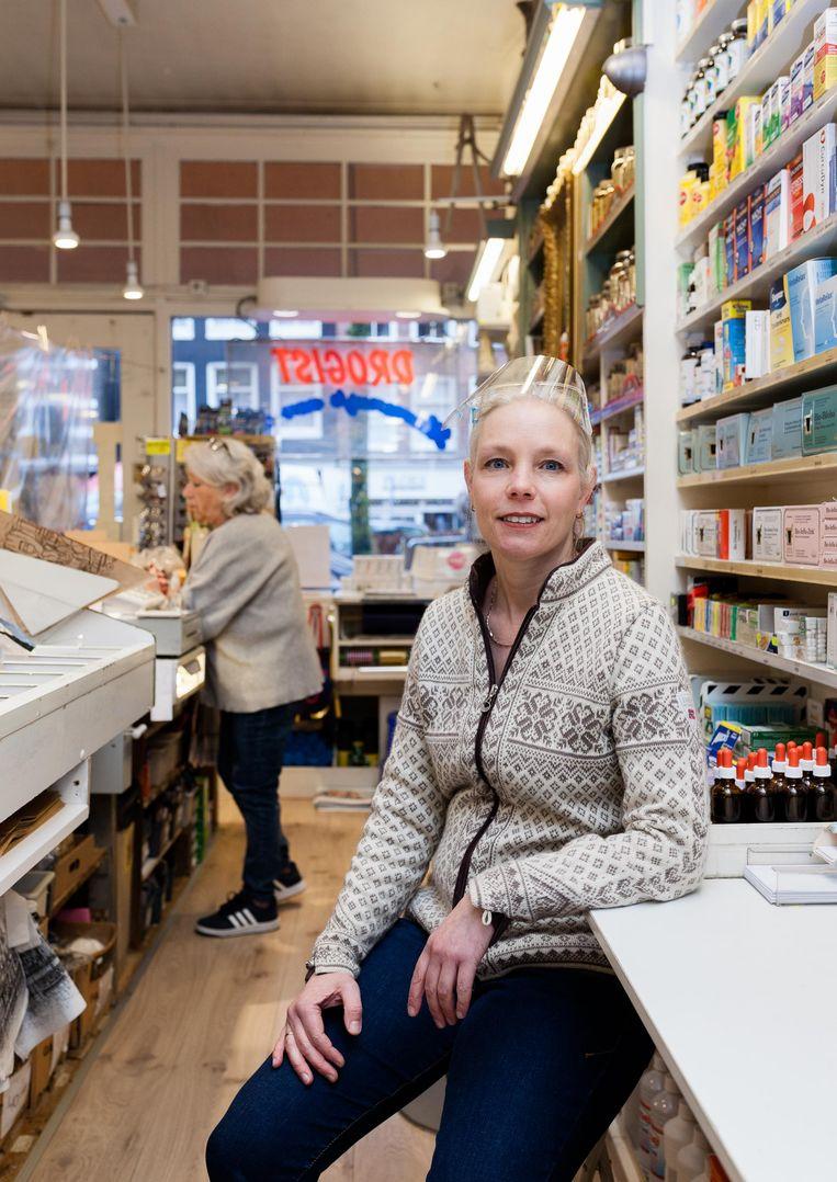 Linda Bras (47) van Hermanusje van Alles. Beeld Nina Schollaardt