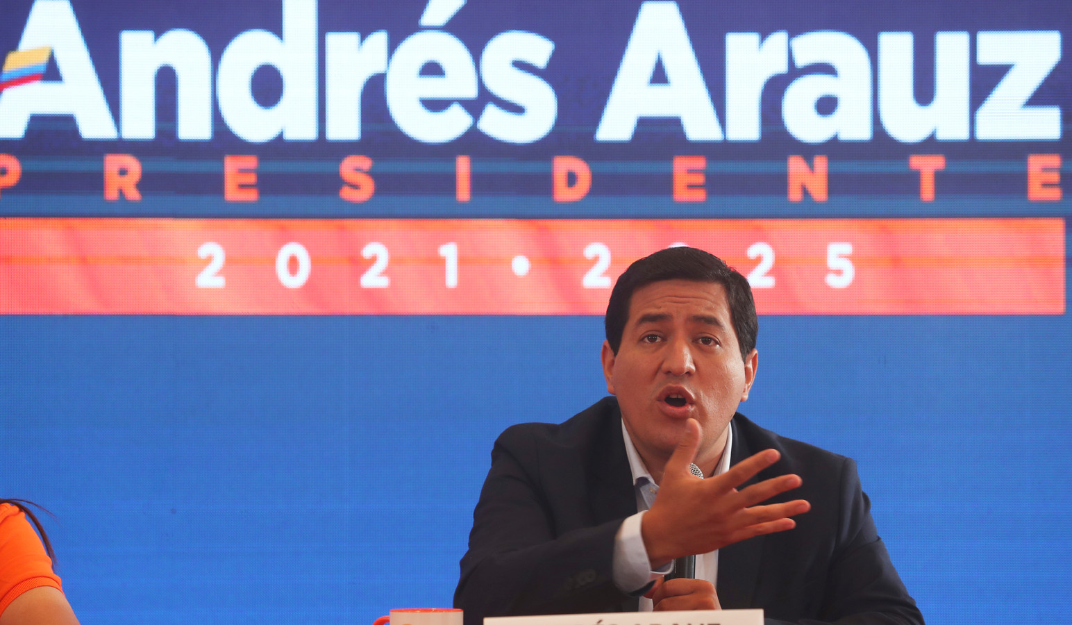 De eerste ronde van de verkiezingen werd gewonnen door Andrés Arauz.