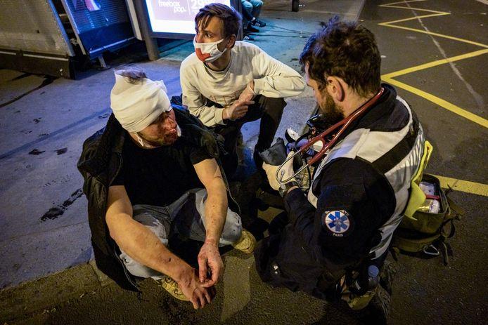 """Ameer al Halbi """"a été blessé au visage par un coup de matraque"""""""