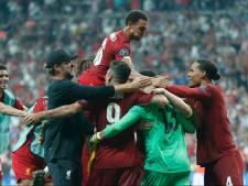Van Dijk en Wijnaldum winnen Super Cup na strafschoppen