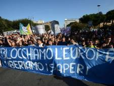 Grève et manifestations aussi en Italie