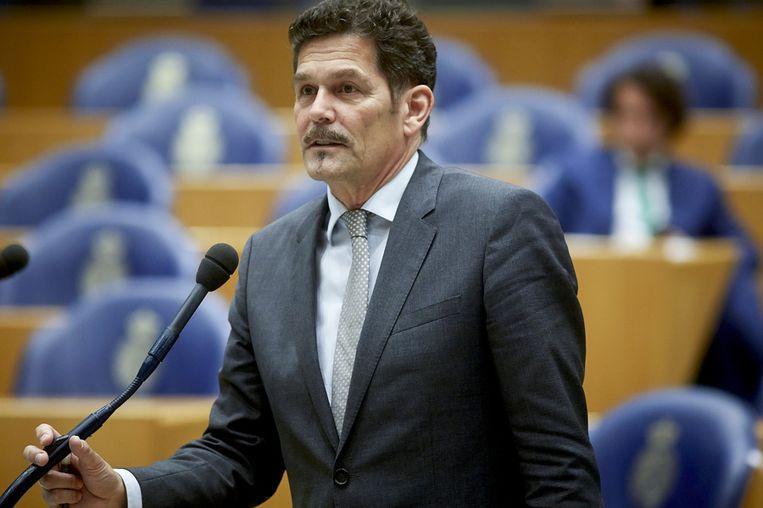 PVV-Kamerlid Harm Beertema. Beeld anp