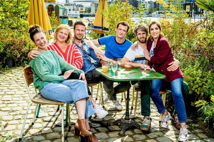 Dertigers - seizoen 2 - één - groepsfoto cast