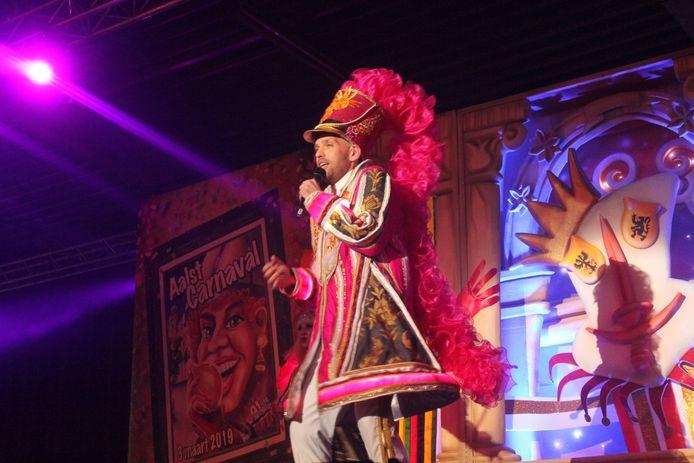 De Meyst tijdens zijn show.