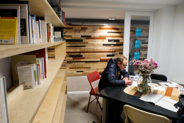 Er is ook een 'stille' ruimte voorzien, waar daklozen tot rust kunnen komen.