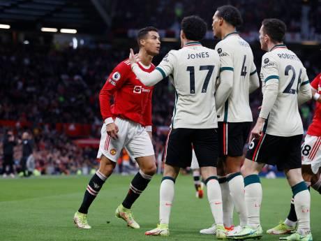 Gefrustreerde Ronaldo trapt na en wordt tot de orde geroepen door Van Dijk