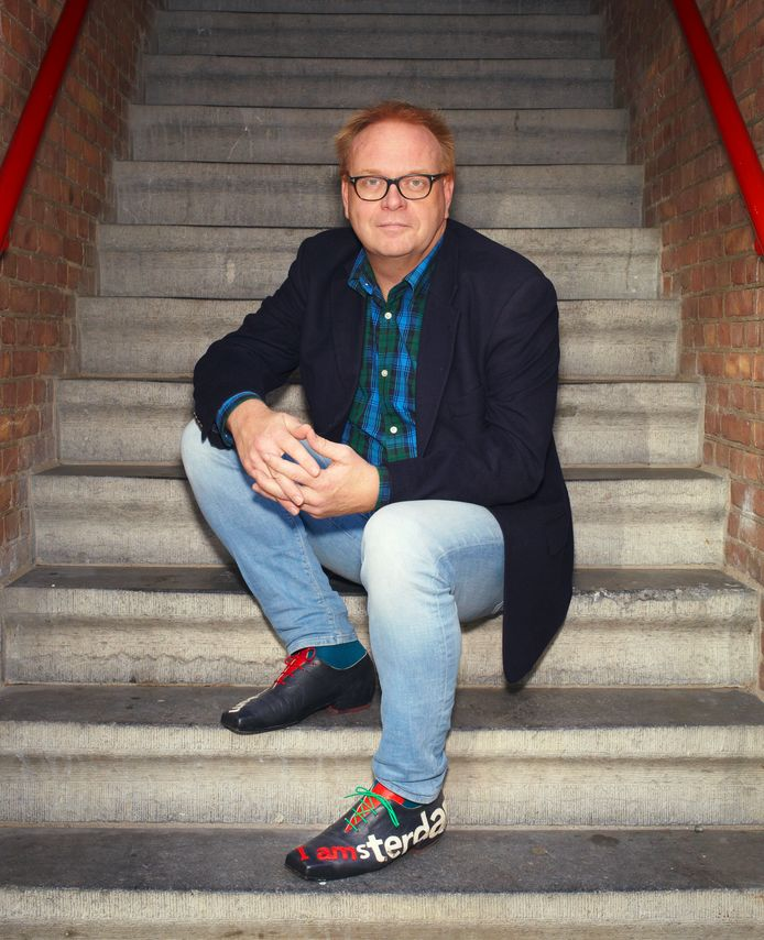 Frits Huffnagel  gefotografeerd op woensdag 31 oktober 2018, in Amsterdam.  I amsterdam