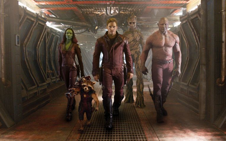 Guardians of the Galaxy, 2014.  Beeld AP