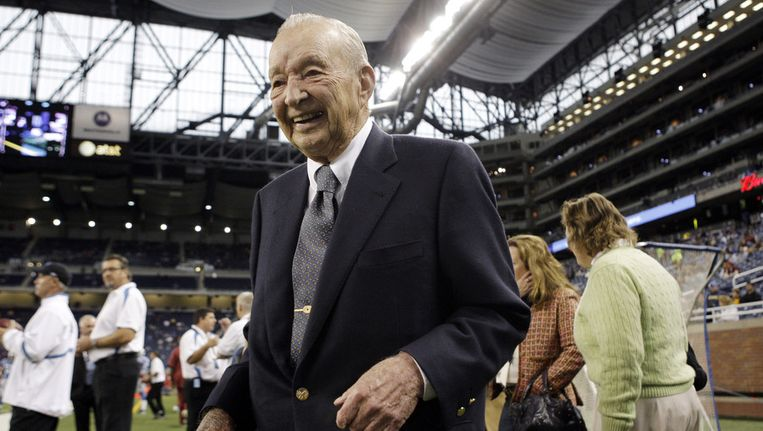 William Clay Ford Sr. in 2008 Beeld ap