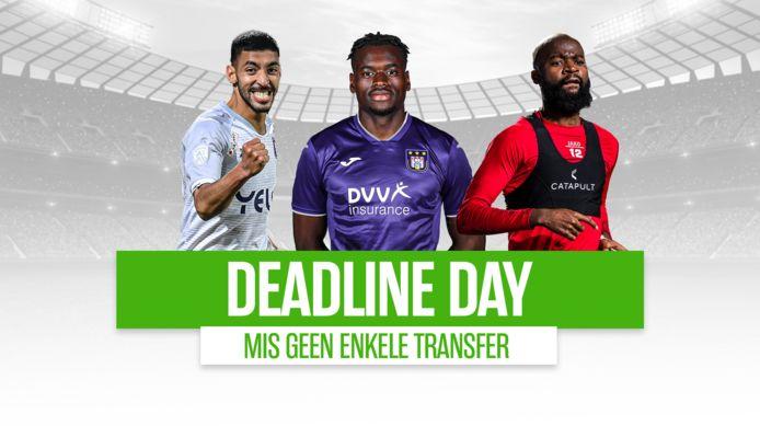 Deadline day.