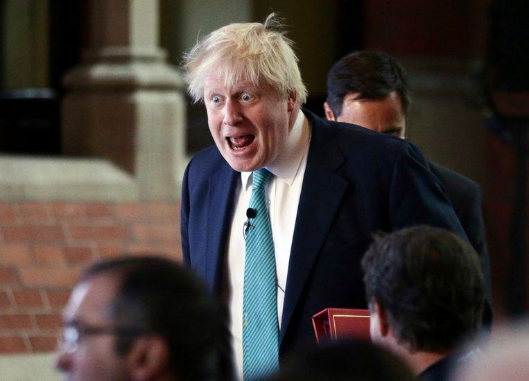 De Britse minister van Buitenlandse Zaken Boris Johnson. Beeld ap