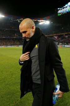 FA klaagt Guardiola aan voor geel lintje