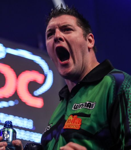 Bunting, Gurney en Petersen verder na spectaculaire middag in 'Ally Pally'