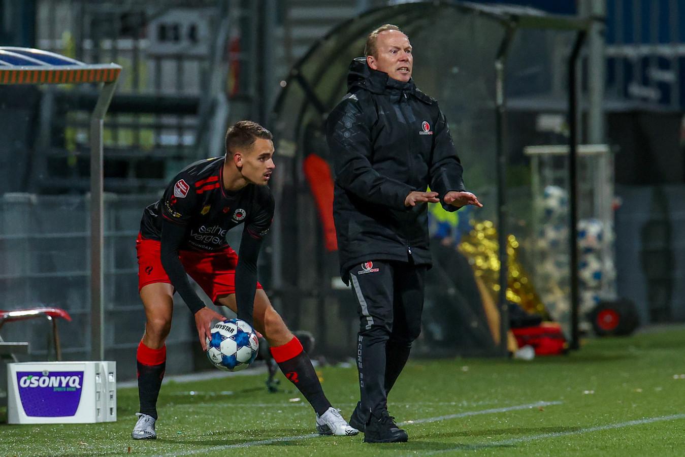 Helmond Sport-trainer Wil Boessen werd maandag met zijn ploeg in de beker uitgeschakeld door Excelsior.
