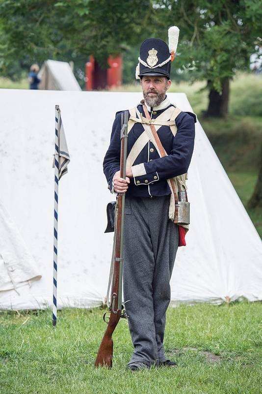 Ron Magielse fotografeerde in juni 2018 in uniform 'embedded' bij het 7e Bataljon van Linie. Foto door Erny van Wijk