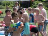 Watergevechten tegen de hitte in Harderwijk