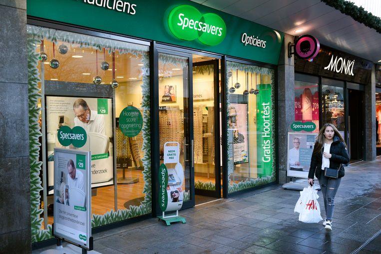 Een filiaal van Specsavers in Rotterdam. Beeld Hollandse Hoogte / Peter Hilz