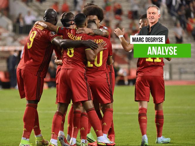 """""""We mogen hopen op een team dat met topambities naar Qatar trekt"""": onze analist Marc Degryse ziet hoe Lukaku, Hazard en Courtois het verschil maken"""