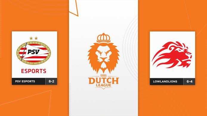 Vanavond spelen PSV Esports en LowLandLions de finale van de Dutch League. De winnaar neemt 2500 euro en een ticket naar EU Masters mee naar huis.