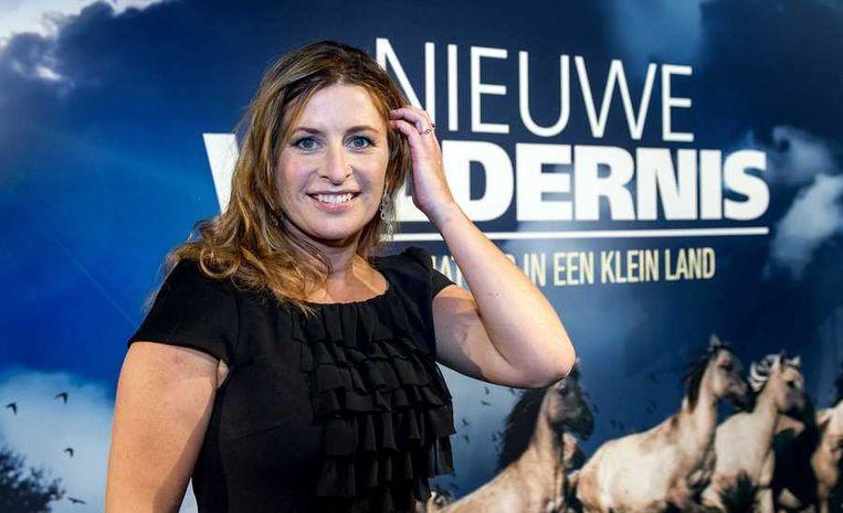 Fotografe en voormalig nieuwslezeres Sacha de Boer. Beeld anp