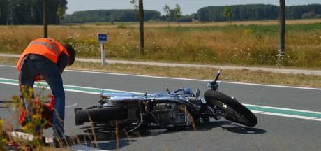 Motorrijder gewond op provinciale weg bij Axel