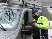 Pakjesbezorgers zonder rijbewijs of onder invloed van alcohol tijdens verkeerscontrole