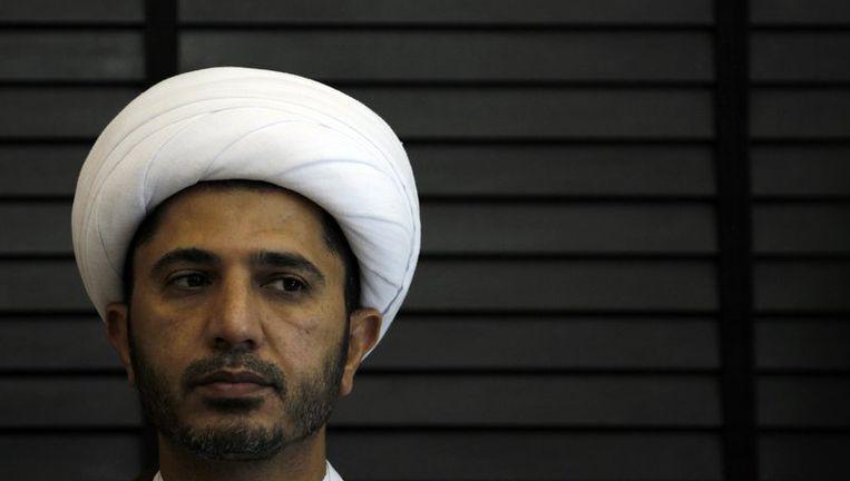 Sjeik Ali Salman, leider van Wefaq. Beeld reuters
