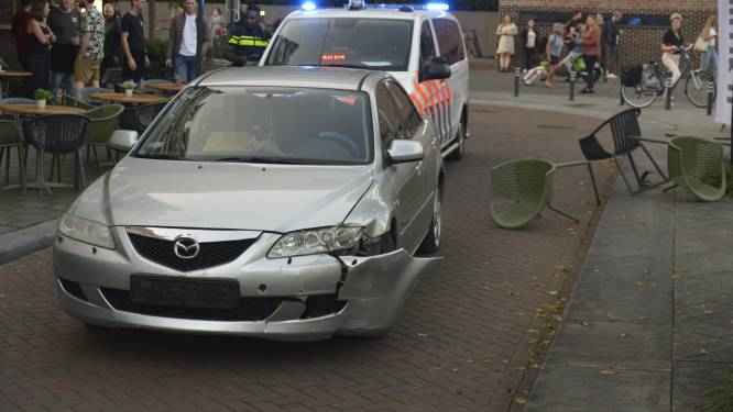 Dronken man (31) rijdt terras in Breda op, na achtervolging aangehouden voor poging tot doodslag
