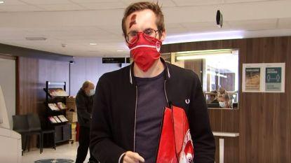 Q-dj Vincent Fierens bezoekt 'rood-witte helden in de zorg'