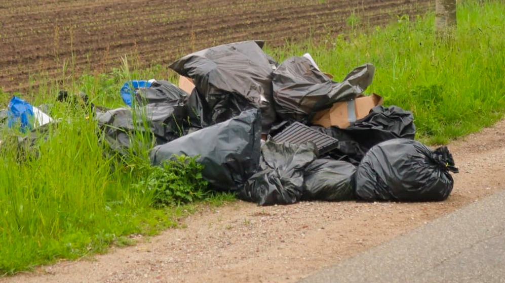 Drugsdumping in Budel.