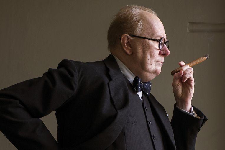 Gary Oldham als Winston Churchill. Beeld Jack English