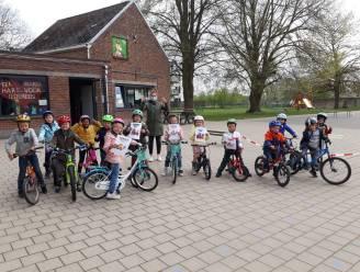 Derde kleuterklas Basisschool De Groene Poort behaalt fietsdiploma