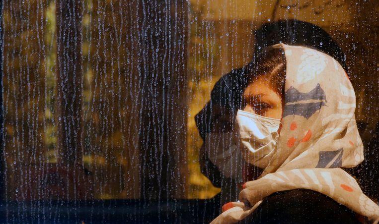 In Iran zijn slechts 15 doses coronavaccin per 100 inwoners toegediend. Beeld EPA