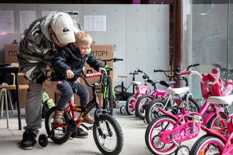 In Neerpelt opende er vorig jaar ook al een fietsbieb.