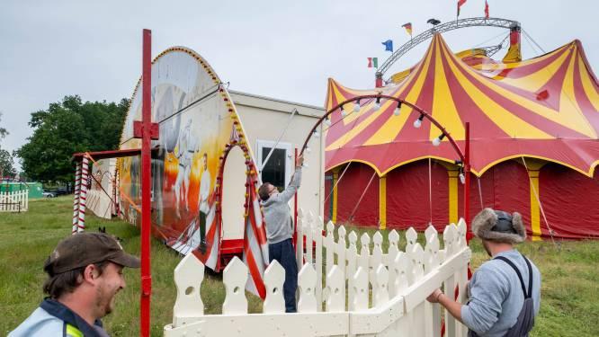 """Circus Pipo, dat al sinds maart vorig jaar in Bonheiden verblijft, maakt zich klaar voor eerste nieuwe shows na lockdown: """"De zenuwen beginnen te komen"""""""