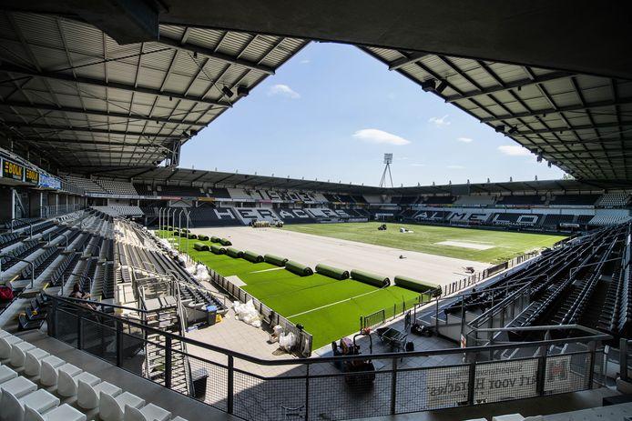 Het stadion van Heracles.